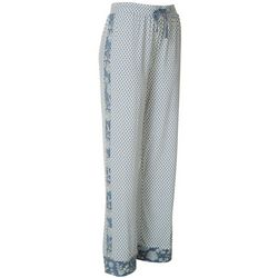 Echo Sleepwear Womens Printed Stretch Pajama Pants