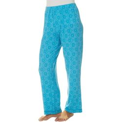 COOL GIRL Womens Intricate Diamond Print Pajama Pants
