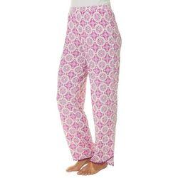 COOL GIRL Womens Medallion Print Pajama Pants