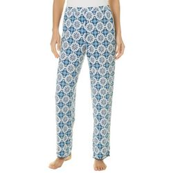 COOL GIRL Womens Medallion Print Pom Pom Pajama Pants