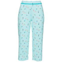 Womens Flamingo Island Print Pajama Capris