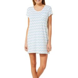 COOL GIRL Womens Diamond Split Side T-Shirt Nightgown