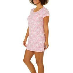 COOL GIRL Womens Split Side T-Shirt Nightgown