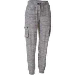 Goodnight Kiss Womens Live To Lounge Cargo Pajama Joggers