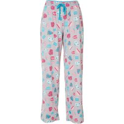 Goodnight Kiss Womens Tea Cup Pajama Pants