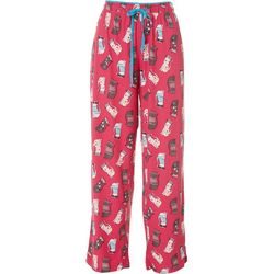Goodnight Kiss Womens Cool Cats Pajama Pants