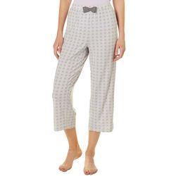 COOL GIRL Womens Floral Print Pajama Capris