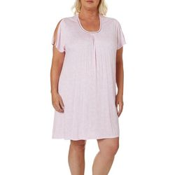 Company Ellen Tracy Womens Flutter Palm Print Nightgown