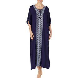 Womens Boho Long Kaftan Nightgown