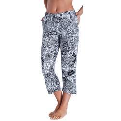 Womens Essentials Mixed Pajama Capris