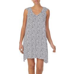 Womens Animal Print Nightgown