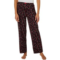 Ellen Tracy Womens Ditsy Floral Pajama Pants