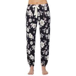 Layla Womens Floral Jogger Pajama Pants