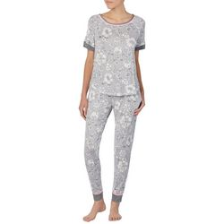Layla Womens Floral Pajama Pants Set
