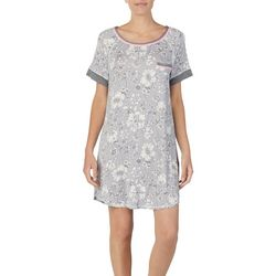 Layla Womens Floral Print Nightgown
