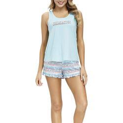 Jammies Sleepwear Jammies Tie Dye Stripe Pajama Shorts
