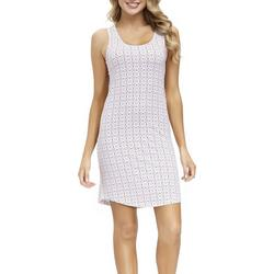 Womens Mandala Print Sleeveless Nightgown