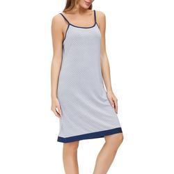 Womens Geometric Print Chemise Nightgown