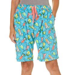 Rene Rofe Womens Margarita Summer Terry Pajama Shorts