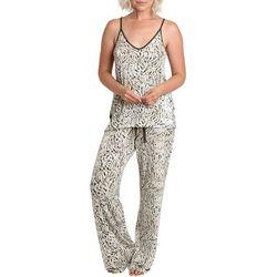 Catherine Malandrino Womens Print 2-Peice Pajama Set