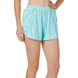 Tackle & Tides Womens Knotty Pajama Shorts