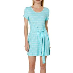 Tackle & Tides Womens Knotty Tie Front Nightgown