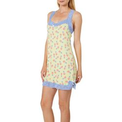 Tackle & Tides Womens Colada Lace Trim Nightgown