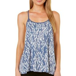 Tackle & Tides Womens Seahorse Swing Lace Pajama Tank Top