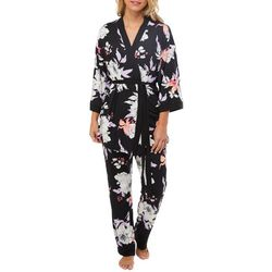 Linea Donatella Womens 3-pc. Floral Pajama Pants Set