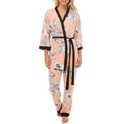 Linea Donatella Womens 3-pc. Eden Floral Pajama Pants Set
