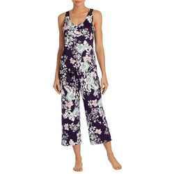 Linea Donatella Womens Daniella Floral Pajama Capris Set