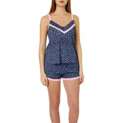 Juniors Above It All Pajama Shorts Set
