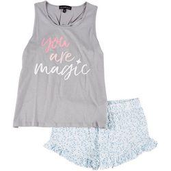 Derek Heart Juniors You Are Magic Pajama Shorts Set