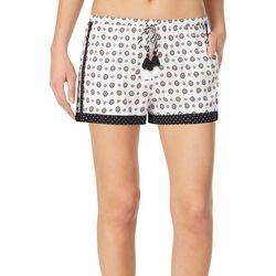 Kensie Juniors Pattern Mixed Pajama Shorts
