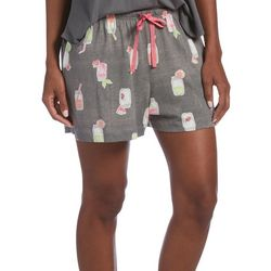 Hue Womens Mason Jar Pajama Boxer Shorts