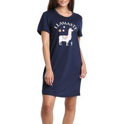 Juniors Llamaste Sleep T-Shirt
