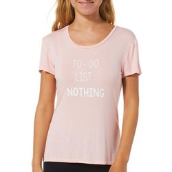 Juniors To Do List: Nothing Sleep T-Shirt