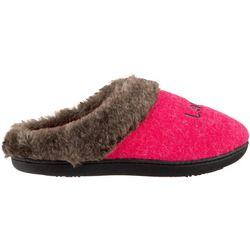 Isotoner Womens Emily Hoodback Clog Slippers