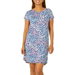 Jaclyn Intimates Womens Flourisng Wildflower Print Nightgown