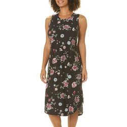 Jaclyn Intimates Womens Floral Print Leisure Dress