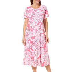 Coral Bay Womens Toucan Print Leisure Dress