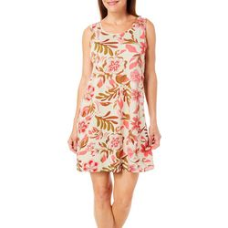 Coral Bay Womens Floral Tank leisure Dress
