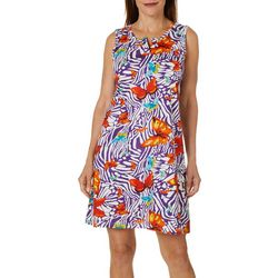 Coral Bay Womens Butterfly Leisure Dress