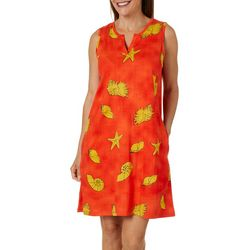 Coral Bay Womens Sealife Leisure Dress
