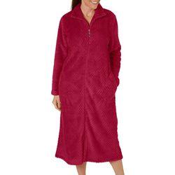Coral Bay Womens Beehive Zip Robe