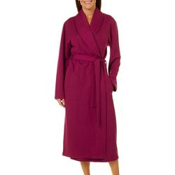Jasmine Rose Womens Double Knit Robe 0f81e60be