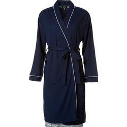Womens Blister Knit Wrap Robe