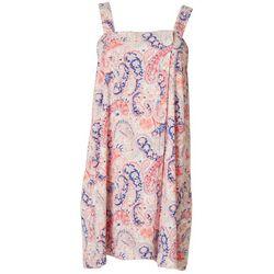 Artology Womens Paisley Terry Shower Wrap Robe