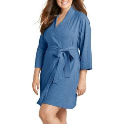 Plus Classic Soft Solid Robe