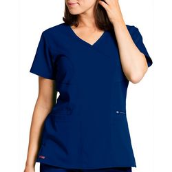 Grey's Anatomy Womens V-Neck Kim Scrub Top